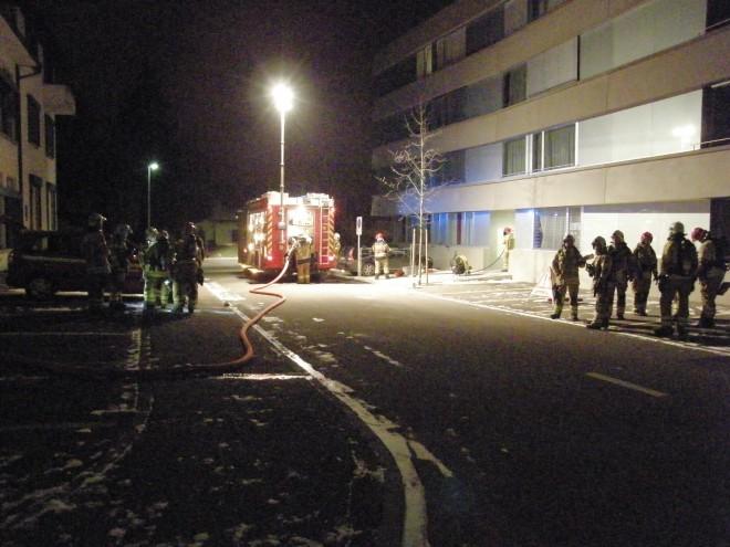 Wohnungsbrand an der Paradiesstrasse