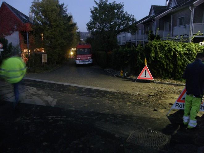 Wasserrohrbruch, mehrere Liegenschaften betroffen