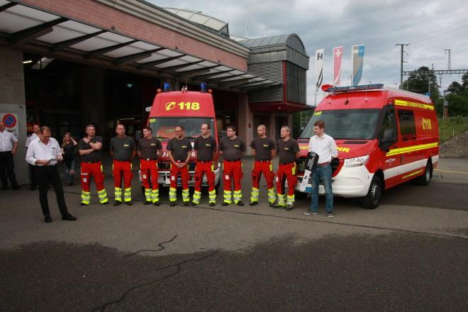 Ein neues Atemschutzfahrzeug für die Feuerwehr