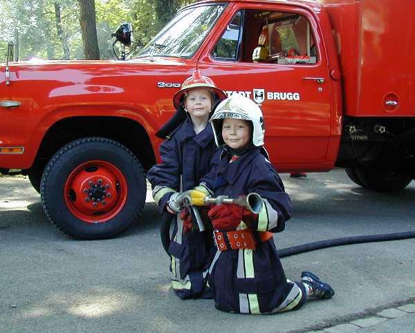 Kinderspiel- und Feuerwehr-Familientag 2000