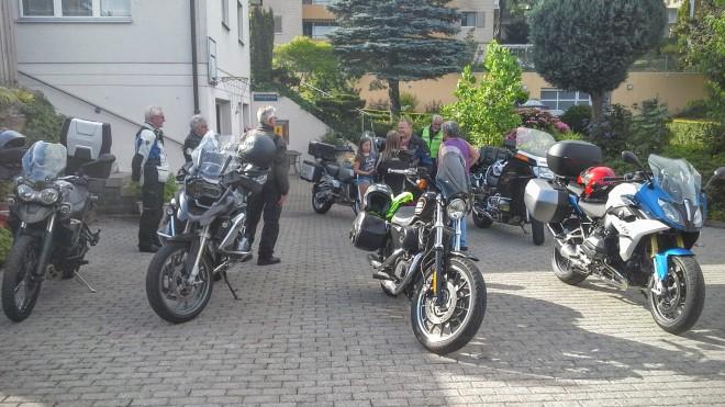 Motorradreise 22.-24.6.2016