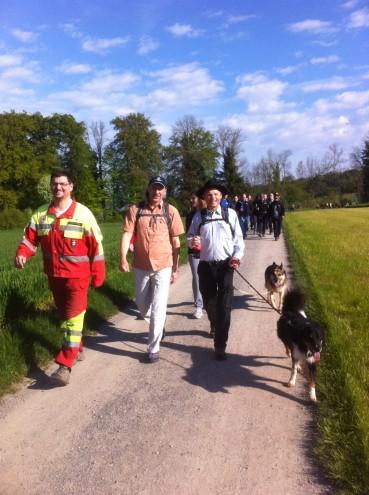 43. Aarg. Kantonaler Feuerwehrmarsch vom 30.4.2016 in Meisterschwanden