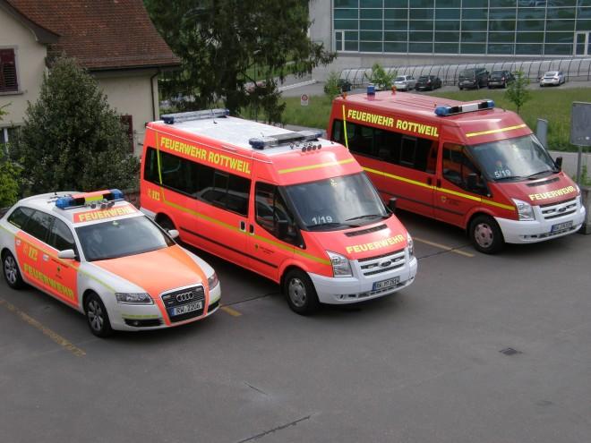 Freundschaftstreffen FFW Rottweil und FW Brugg in Brugg