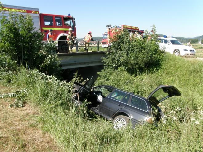 Verkehrsunfall in Rüfenach