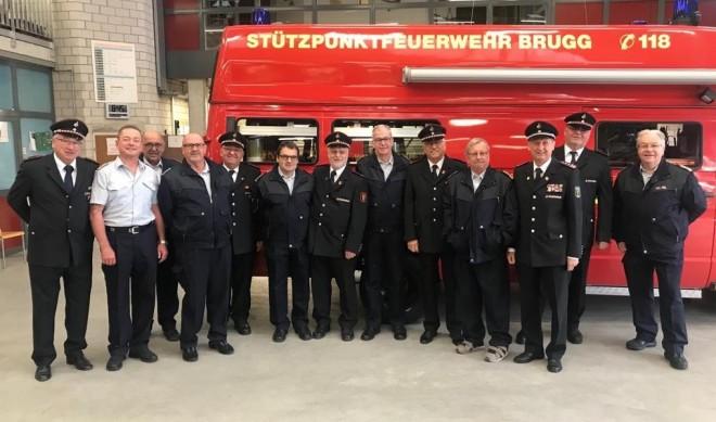 Treffen der Altersabteilungen der Feuerwehren Brugg und Rottweil