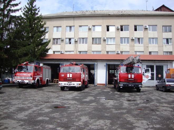 Feuerwehrmaterial für die Ukraine