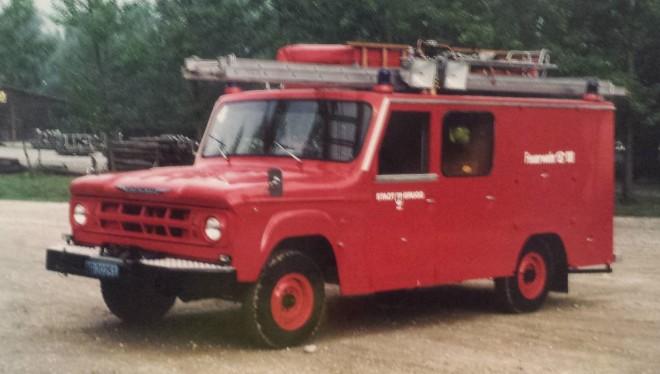 Ehemalige Feuerwehrfahrzeuge